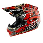 Troy Lee Designs Air Medusa Helmet - Large/Black/Red