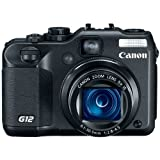 Canon G12 10MP Digital Camera with 5x Optical Image Stabilized Zoom and 2.8 ....