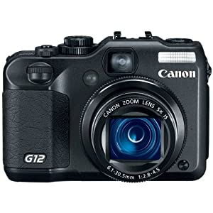 Canon G12 10 MP Digital Camera