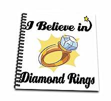 buy Dooni Designs I Believe In Designs - I Believe In Diamond Rings - Drawing Book 8 X 8 Inch (Db_105100_1)