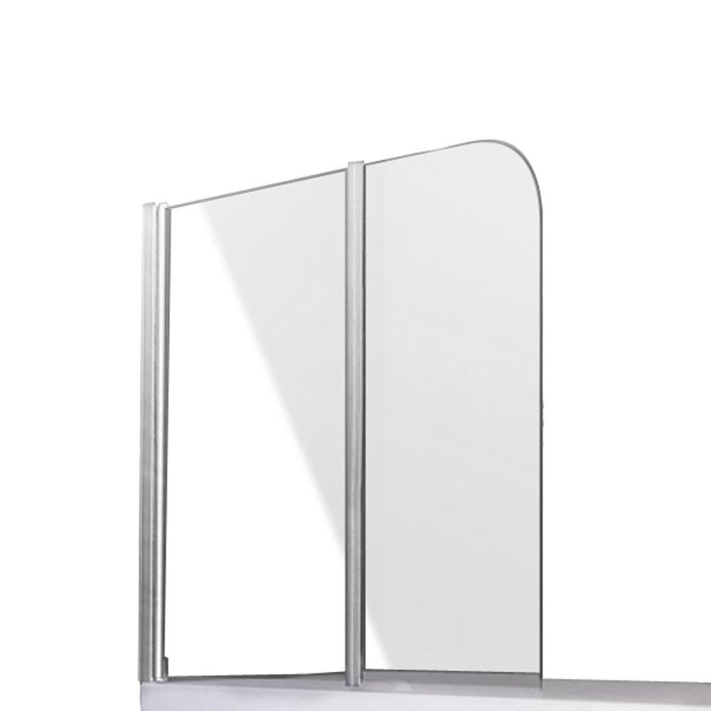 Duschabtrennung Badewannenfaltwand Duschwand 2 Türflügel schwenkbar links  BaumarktÜberprüfung und weitere Informationen