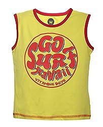Vitamins Boys' T-Shirt (08Tb-404-3-M.Green_Light Green_3 - 4 Years)