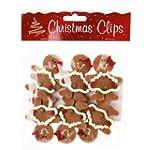 Set 0f 6 Felt Gingerbread Men Women C...