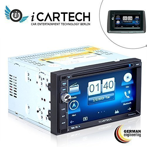 ICARTECH - GX630N, Autoradio De Navigation Pour Fiat Panda