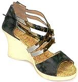 Celebrity Girl's Grey Synthetic Fashion Sandals -6 UK