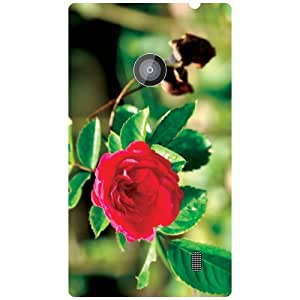 Nokia Lumia 520 Back Cover - Rose Designer Cases