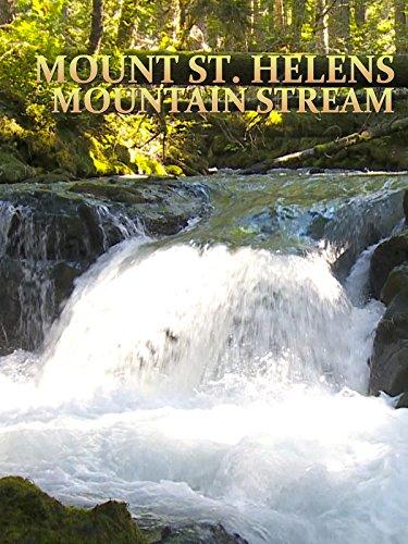 Mount St. Helens Mountain Stream