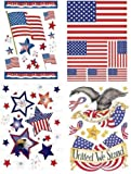 PATRIOTIC CLASSIC CLINGS by IMPACT INNOVATIONS MfrPartNo 41140