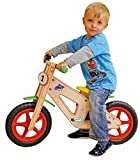 Woodyland 85 x 55 cm Happy Engine Wooden Balance Bike by Woodyland
