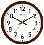 Geneva Brown 14-Inch Electric Quartz...
