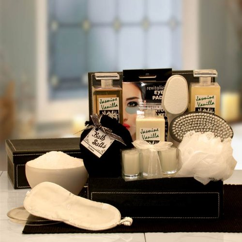 Luxurious Spa Jasmine & Vanilla Gift Basket