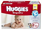 Huggies Snug and Dry Diapers, Size 2, 92 Count