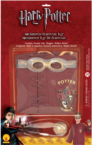 Quidditch Kit Costume Set - One Size front-484434