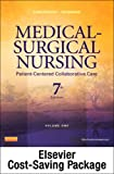 Medical-Surgical Nursing - 2-Volume Set - Text and Virtual Clinical Excursions 3.0 Package: Patient-Centered Collaborative Care, 7e