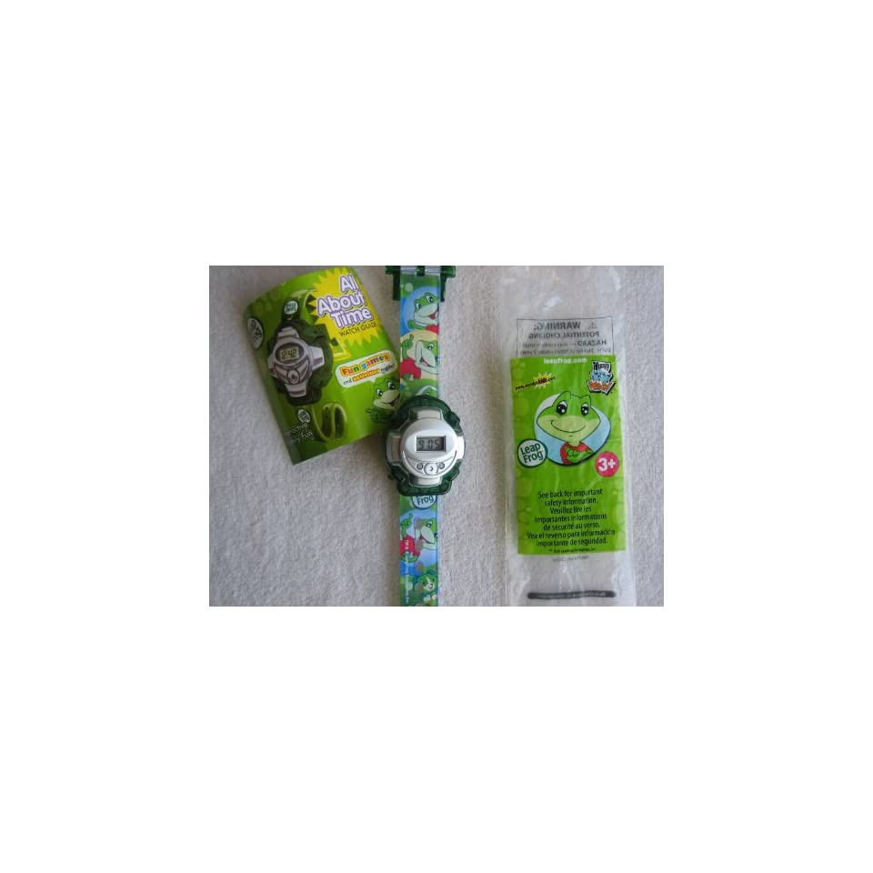 Wendys Kids Meal Leap Frog Watch   All About Time