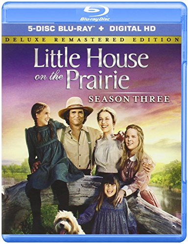 Blu-ray : Little House on the Prairie: Season 3 (Deluxe Edition, Remastered, Collector's Edition, Full Frame, Boxed Set)