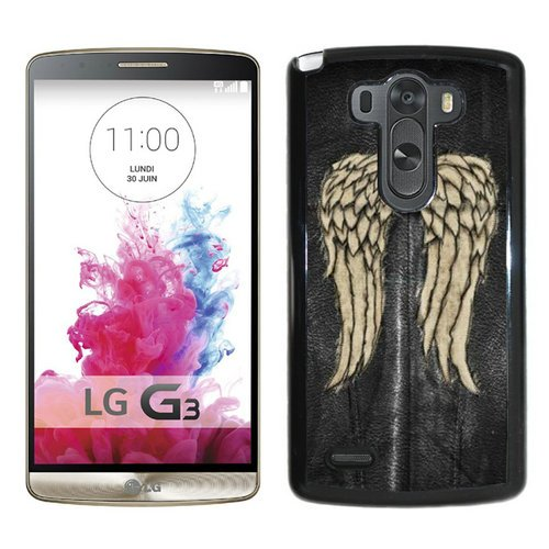 Generic Walking Dead Black Shell Phone Case for LG G3,Newest Cover (Lg G3 Phone Case Walking Dead compare prices)