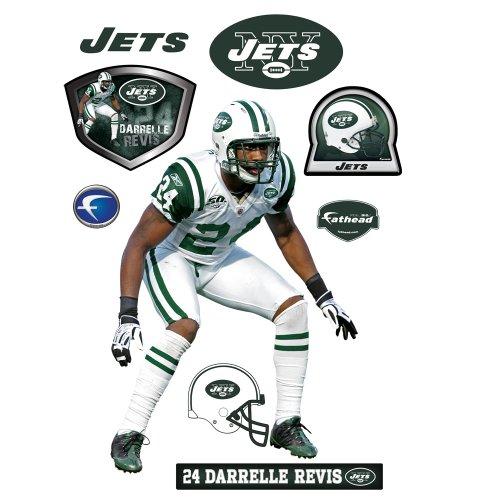 Fathead NFL New York Jets Darrelle Revis Wall Graphic Fathead Prints & Posters autotags B004O47U3S
