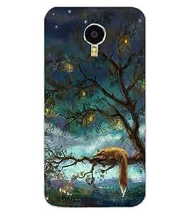 ColourCraft Beautiful Tree Design Back Case Cover for MEIZU M3 NOTE