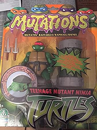 Tmnt - figurines transformable 12 cm avec gel glua