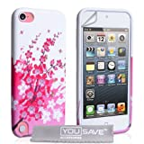 iPod Touch 5G Case Silicone Floral Bee Gel Coverby Yousave Accessories