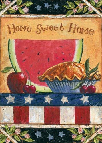 Toland Home Garden American Folk House Flag 101157