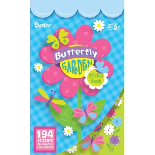 WeGlow International My Butterfly Garden Sticker Books, Set of 4