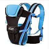 MeMeDa Breathable Multifunctional baby backpack carrier with Shoulder Sling - Baby Sling Backpack, Enhanced Safety Buckles (Blue)