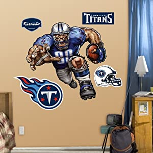 NFL Tennessee Titans Trampling Titan Wall Graphics by Fathead