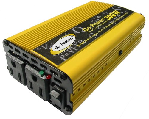 Go Power! GP-300 300-Watt Modified Sine Wave Inverter (Car Charger For Mod Batteries compare prices)