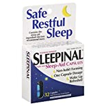 Sleepinal Sleep-Aid, Night-Time, Maximum Strength, Capsules, 32 capsules