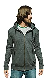 Dolly Varden Outdoor Clothing Men\'s Bighorn Hoodie, Charcoal Heather, Large