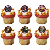 Planes 2 Fire and Rescue Piston Peak Rescue Team Cupcake Rings - 24 pcs