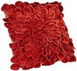 Brentwood Starburt Petals 16-Inch Pillow, Spice
