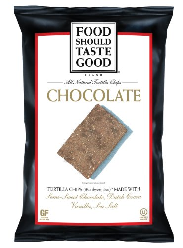 Food Should Taste Good Chips, Chocolate, 5.5 Ounce (Pack of 12)