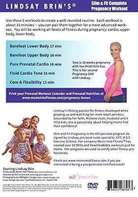Slim & Fit Complete Pregnancy Workout starring Lindsay Brin