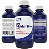 Colloidal Silver 30ppm - Purest Colloidal Silver on the Market Nano Colloidal Silver- Vegan and Gluten Free