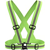 Travelwey Reflective Vest - Ideal Safety Gear For All Manner Of Outdoor Activities Including Running, Walking, Hiking And Cycling - Provides High Visiblilty Day And Night - Light Weight And Easily Adjustable To Fit A Wide Range Of Size And Body Type - 100% Risk Free Lifetime Money Back Guarantee - LIMITED TIME Low Price Offer