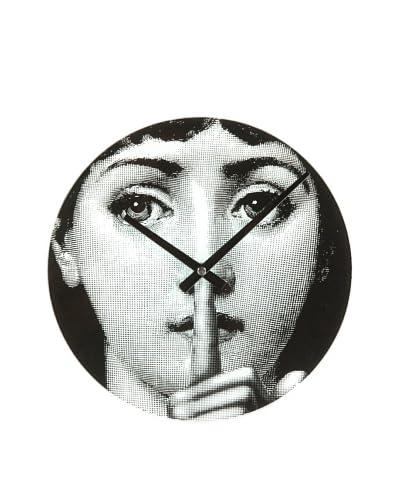 Mid Century Modern Mid Century Girl Hush Clock