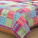 Kelsey Pink King Quilt with 2 Shams
