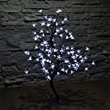 LED Baum Kirschbaum LEDKB96 weiss Lichterbaum Bäumchen Lichterbäumchen