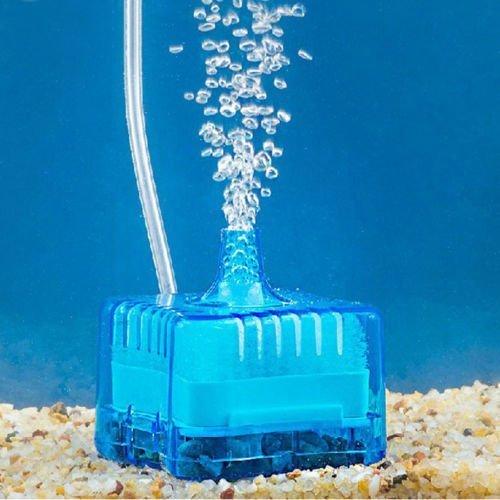 Yosoo Aquarium Mini Fish Tank Super Pneumatic Biochemical Activated Carbon Filter (Blue) (Super Activated Carbon Filter compare prices)