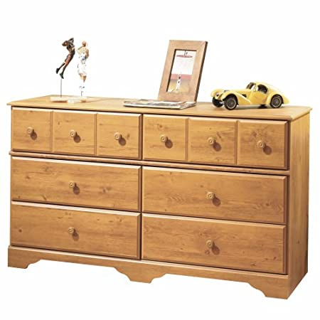 South Shore Furniture, Little Treasures Collection, Double Dresser, Country Pine