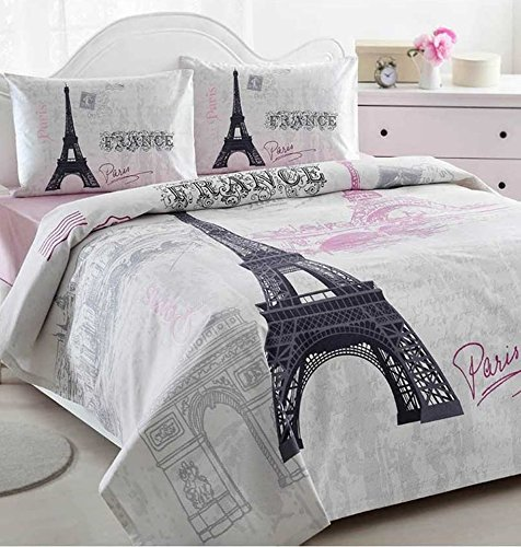 Paris Bedding Girls Paris Themed Bedding Sets Kids