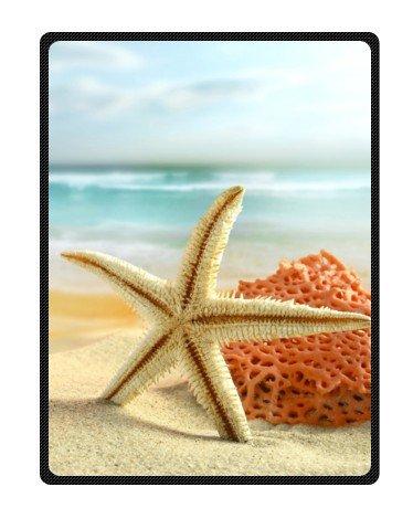 Seashell Throw Blanket front-1033987