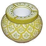 Moroccan Handmade Ceramic Ashtrays Smokeless Cigar Exquisite design with Vivid Colors Medium