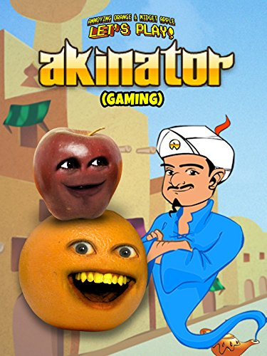 Clip: Annoying Orange & Midget Apple Let's Play