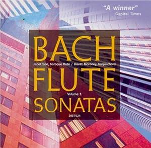 Bach - Flute Sonatas Vol 1