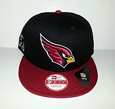 New! New Era NFL Arizona Cardinals Snapback Hat 3D Embroidered Cap