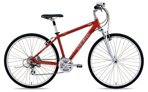 【ルイガノ】(LGS-TR1)クロスバイク 470mm レッド